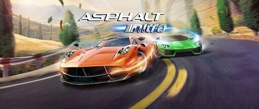 Asphalt Nitro- best car racing games for Android