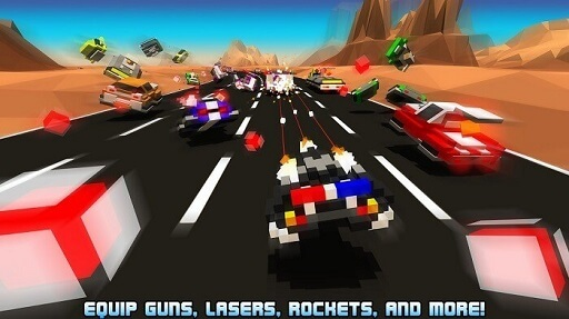 Hovercraft Takedown- best offline car racing game for android