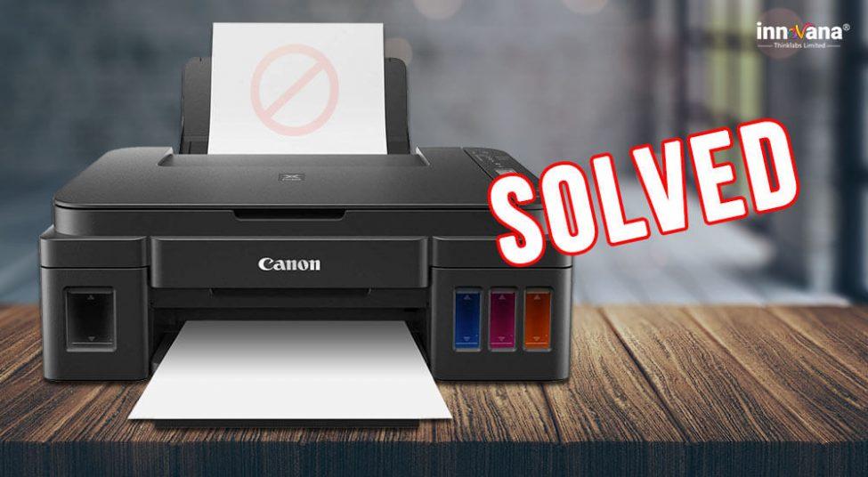 [Fixed] Canon Printer Won't Print in Windows 10