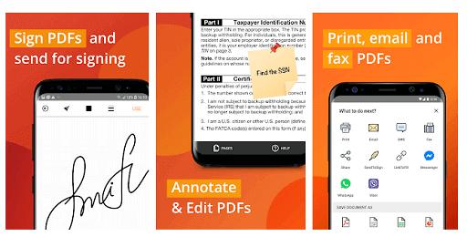 PDF filler: Edit, Sign and Fill PDF