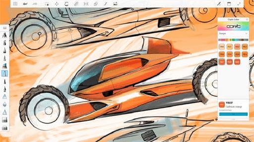 Autodesk Sketchbook - similar software like Procreate