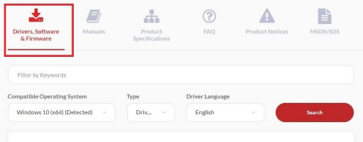 Click Drivers Software & Firmware