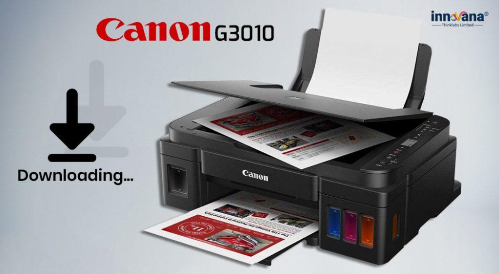 Download Canon G3010 Printer Driver