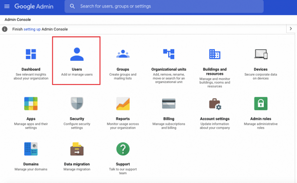 Undelete files from Google Drive-create users