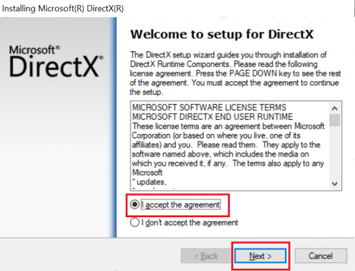 Download the latest version of DirectX from Microsoft -1