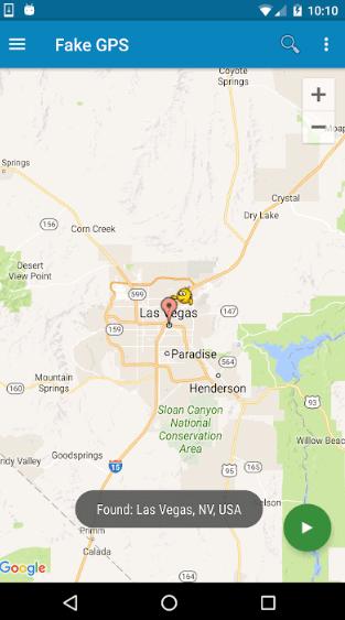 Lexa's Fake GPS Location