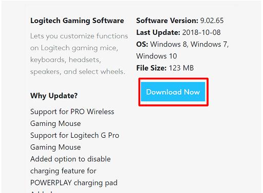 Download Logitech G910 Gaming Software