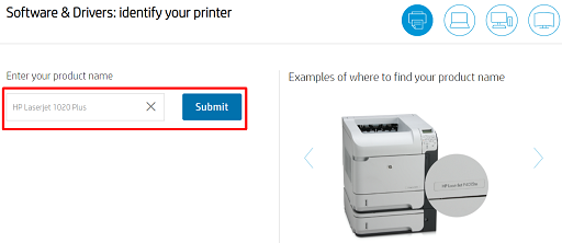 Enter the product name in the given box