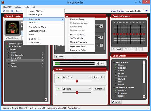 MorphVOX - Best voice changer software for Windows 10