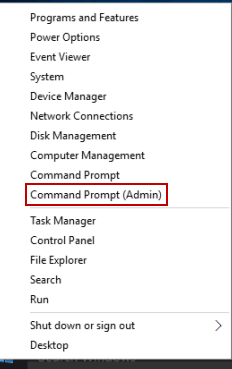 Change the WMI service settings to demand Open Command Prompt