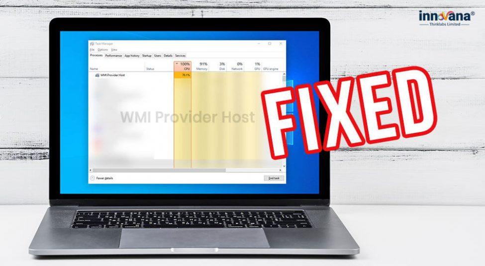 [Fixed] WMI Provider Host High CPU Usage on Windows 10