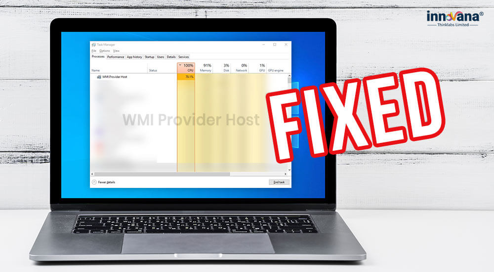 [Fixed] WMI Provider Host High CPU Usage on Windows 10