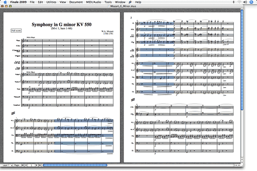 Finale-The best music notation software without any doubt