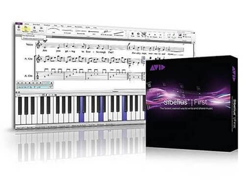 Sibelius First- music notation software