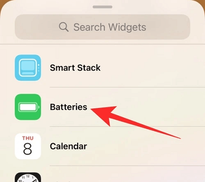 Add battery percentage on iPhone 11 select batteries
