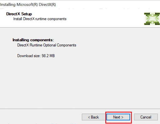 DirectX Setup Process