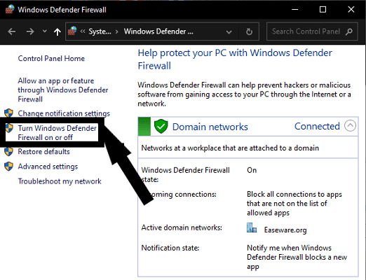Turn Off the Windows Defender or Antivirus-3