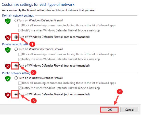 Turn Off the Windows Defender or Antivirus-4