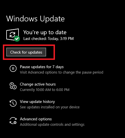 Update the Windows-1