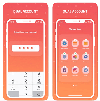 Dual Accounts Multi Space App