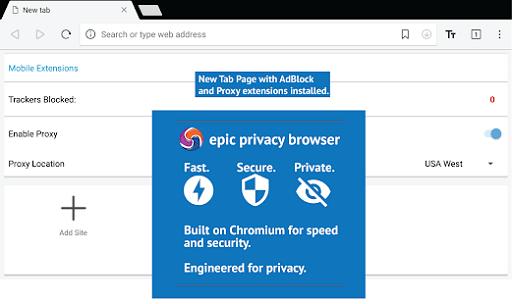 Epic Browser- best Internet Explorer alternatives