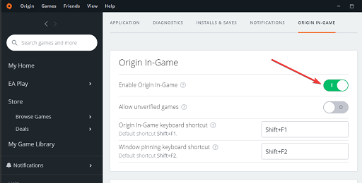 Disable Origin In-Game