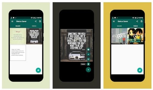 Status Saver- video downloader app