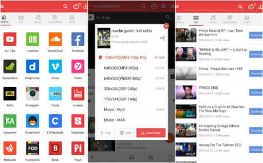 Vidmate- best YouTube downloaders for Android and iPhone