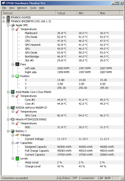 HW monitor- benchmarking and windows 10 temperature monitor software