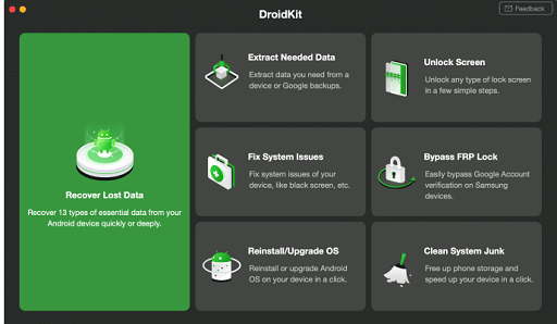 Droidkit- best data recovery software for windows 10