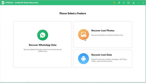 Tenorshare UltData- recover the lost data from Android devices