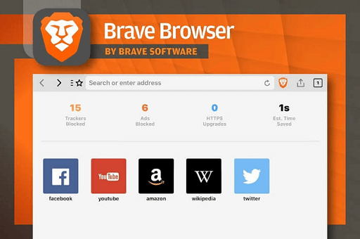 Brave Browser- best lightweight browser windows