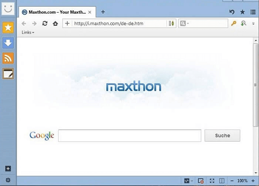 Maxthon- best browsers for low-end pc