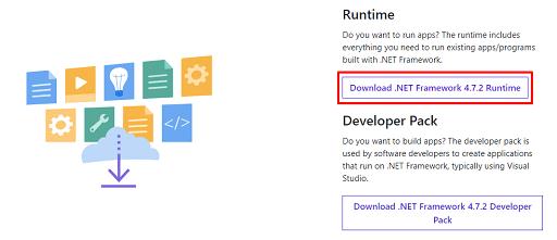 Get the new Microsoft .NET framework