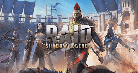 Raid Shadow Legends- online games to play with friends on different computers