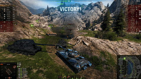 World of Tanks- best online games to play with friends on PC
