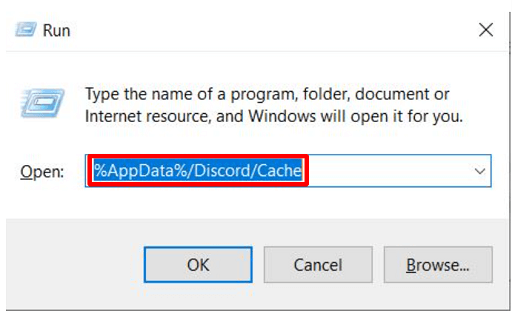 Delete the accumulated cache files - Open run box and give the command