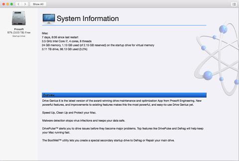 Drive Genius- Best Mac Cleanup Software