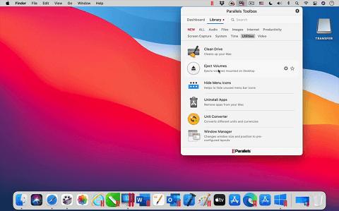 Parallels Toolbox- Best Macbook Screen Cleaner