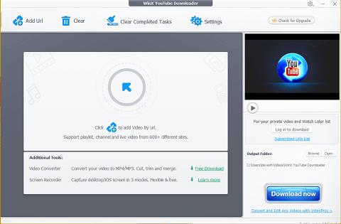 WinX Video Downloader- best free Keepvid Alternatives