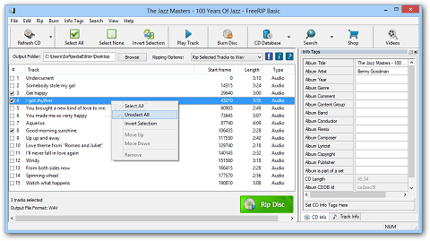 FreeRIP- Best CD ripper to rip and convert audio