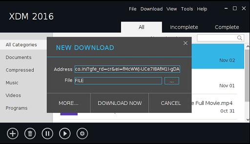 Xtreme Download Manager- best IDM alternatives for windows