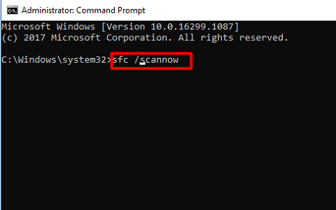 Run the SFC Command for Dev Error 6068 in MW