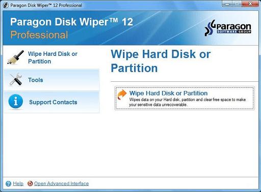 Disk Wiper Professional- Best file shredder with in-built Wipe Media Builder