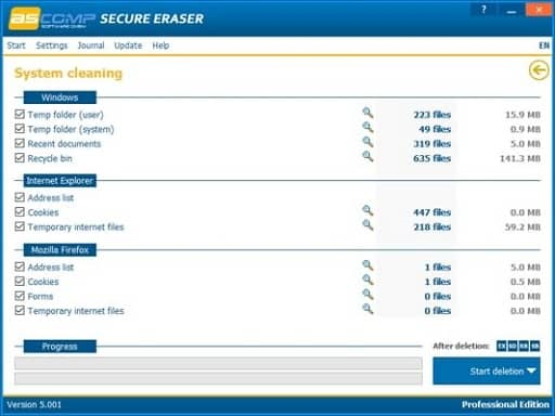 Secure Eraser- Best delete software with multiple uses