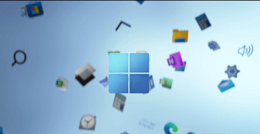 Features of the All-New Windows 11- Round-Cornered Interface
