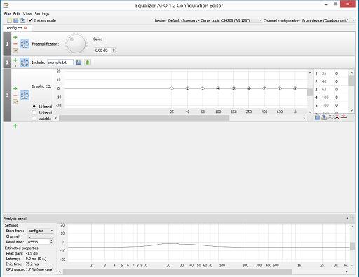 Equalizer APO- best audio equalizer for Windows 10