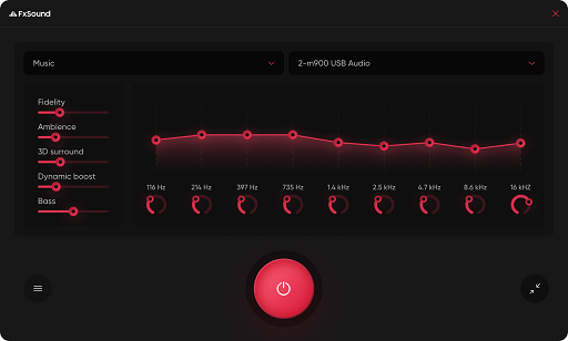 FxSound- free equalizer for Windows 10