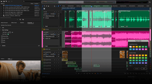 Adobe Audition- best free audio sound equalizers for Windows 10