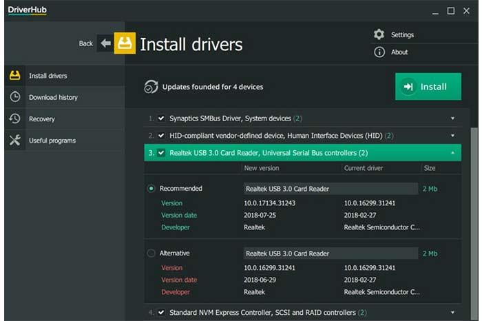 DriverHub